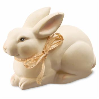National Tree Company 7.5 in. Rabbit with Ribbon