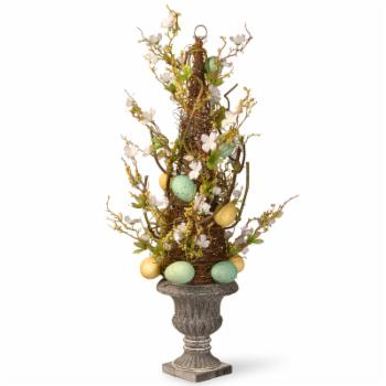 National Tree Company 27 in. Easter Egg Potted Tree