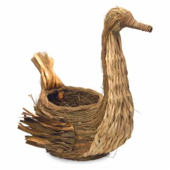 National Tree Company 21 in. Goose Basket