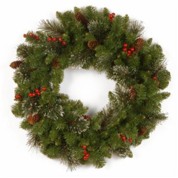 National Tree Company Crestwood Spruce Wreath