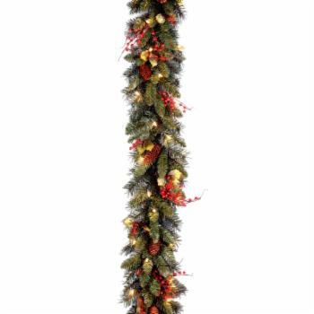 9 ft. Classical Collection Pre-lit Garland