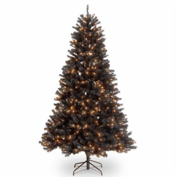 National Tree Company 7.5 ft. North Valley Black Spruce Prelit Christmas Tree