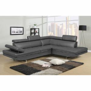 Nh Designs Logan Collection Right Facing Sectional Sofa