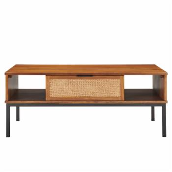 New Pacific Direct Inc Caine Rattan Rectangular Coffee Table
