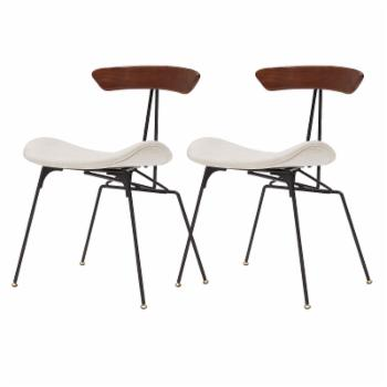 New Pacific Direct Inc Wolfgang Dining Side Chair - Set of 2