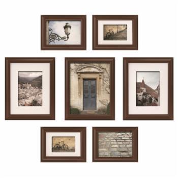 Nielsen Bainbridge Gallery Perfect Snapshot Wall Picture Frame Kit - Set of 7