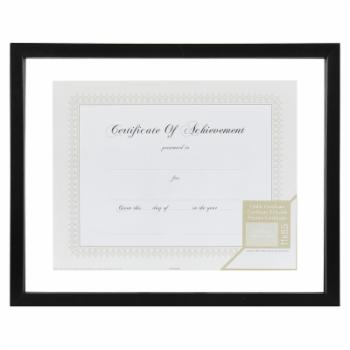 Nielsen Bainbridge Gallery Solutions Floating Document Wall Picture Frame - Black