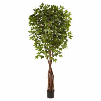 Nearly Natural 7.5 ft. Super Deluxe Ficus Tree