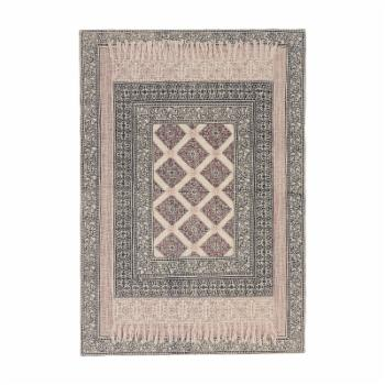Mina Victory Floral Decorative Throw