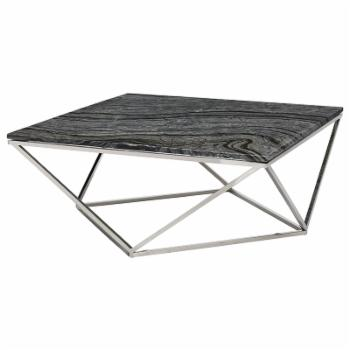 Nuevo Jasmine Metal Framed Coffee Table