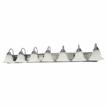 Nuvo 60 Ballerina 7 Light Bathroom Vanity Light