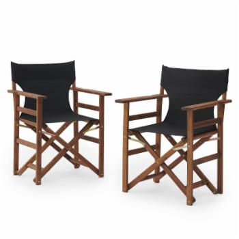 Coral Coast Outdoor Directors Chair - Set of 2