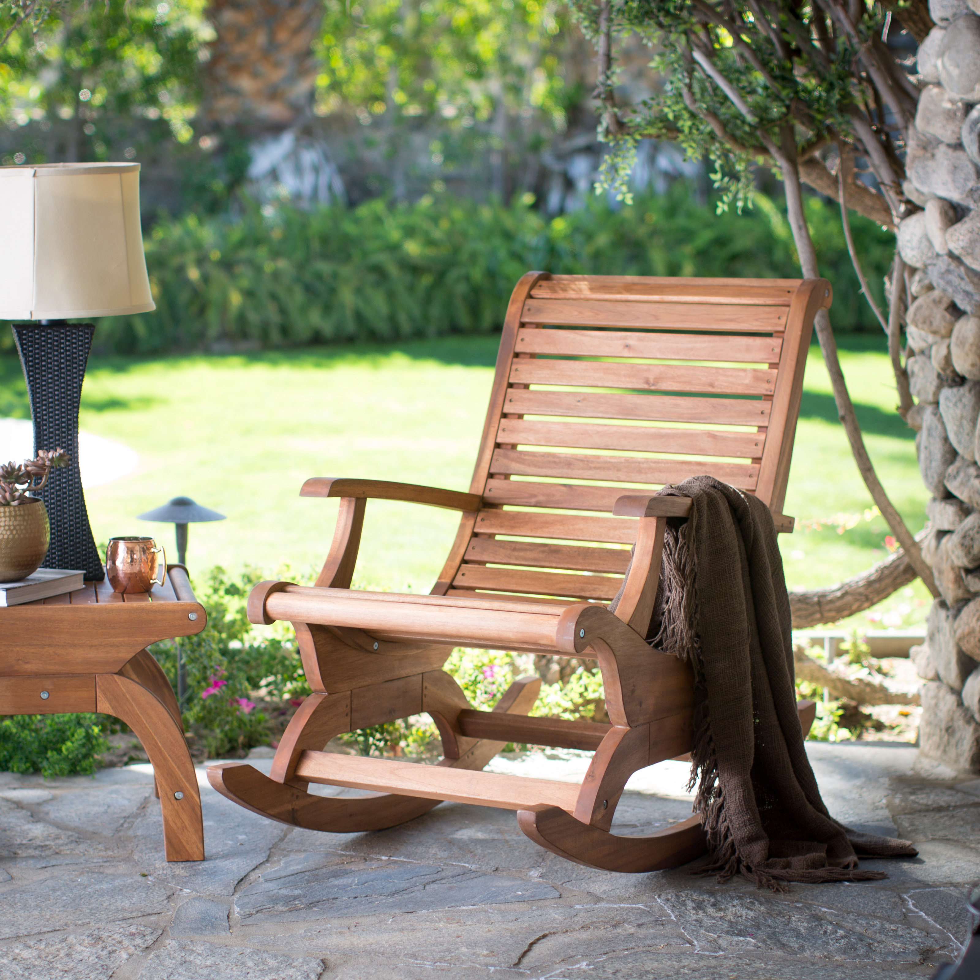 Unfinished & Outdoor Rocking Chairs | Hayneedle