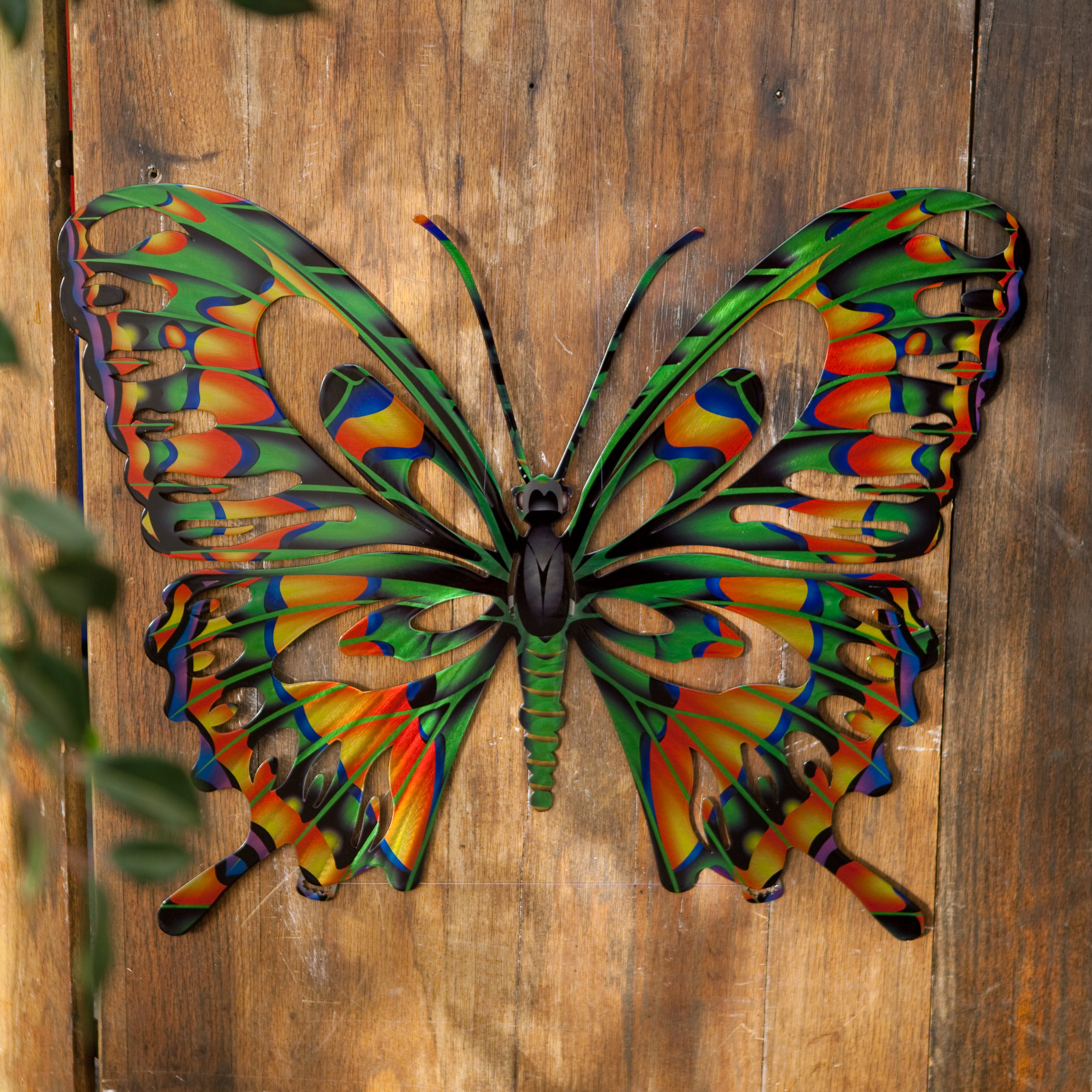 3D Butterfly Metal Outdoor Wall Art : metal exterior wall art - www.pureclipart.com