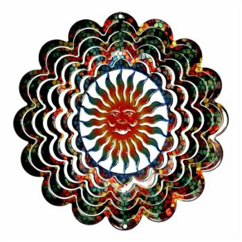 Next Innovations Kaleidoscope Sun Face Wind Spinner