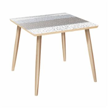 Nyekoncept Mason Dowel Cloudy Trails Side Table