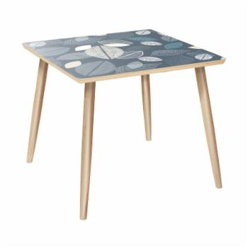 Nyekoncept Mason Dowel Botanical Blues Side Table