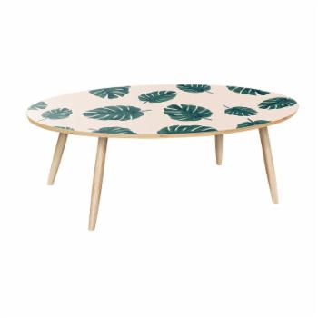 Nyekoncept Ondine Modern Tropics Dowel Coffee Table