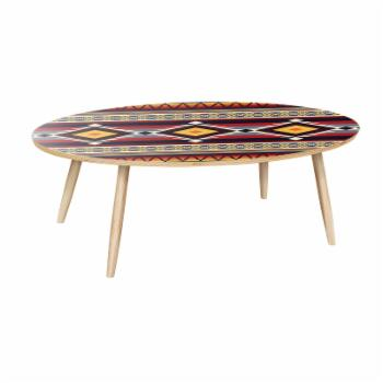 Nyekoncept Ondine Southwest Sunset Dowel Coffee Table