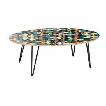 Nyekoncept Ondine Retro Disposition Hairpin Coffee Table