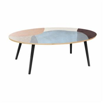 Nyekoncept Ondine Nordic Watercolor Flare Coffee Table