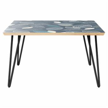 Nyekoncept Mason Hairpin Coffee Table - Botanical Blues