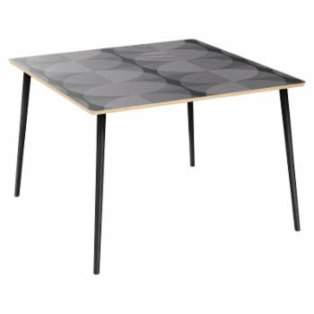 Nyekoncept Mason Smokescreen Flare Dining Table