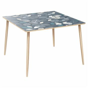 Nyekoncept Mason Botanical Blues Dowel Dining Table
