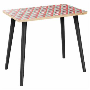 NyeKoncept Brixton Flare Vibrant Tessellation Side Table