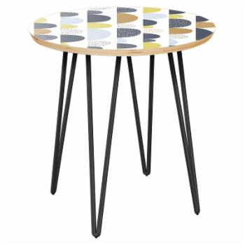 NyeKoncept Stella Mid-Century Movement Hairpin Side Table