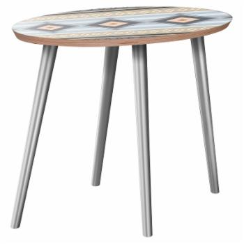 Nyekoncept Ondine Desert Winter Flare Side Table