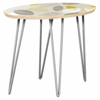 Nyekoncept Ondine Autumn Leaves Hairpin Side Table