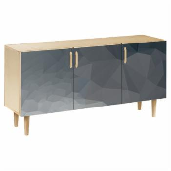 NyeKoncept Midnight Topography Dowel Sideboard