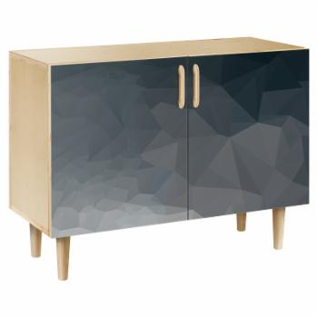 NyeKoncept Midnight Topography Dowel Credenza