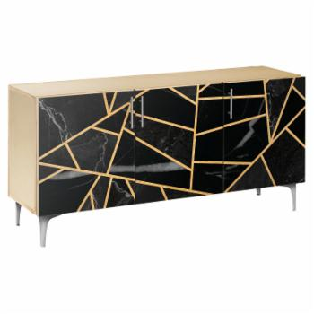 NyeKoncept Stormy Disposition Arc Sideboard