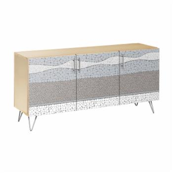 Nyekoncept Cloudy Trails Hairpin Sideboard
