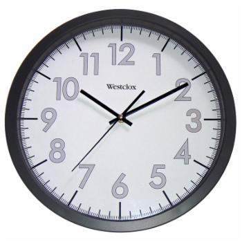 Westclox 14 in. Round Office Wall Clock
