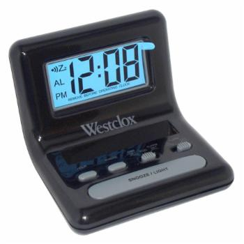 Westclox LCD Display Bedside Alarm Clock
