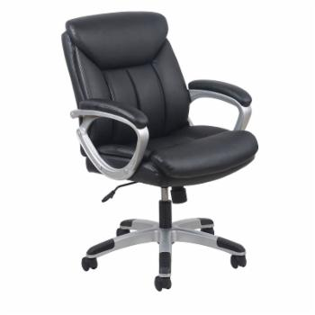 OFM Essentials Leather Executive Chair - Black