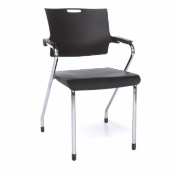 OFM Smart Series Model 304-P Guest Dining Stack Chair