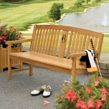 Oxford Garden Signature Series 5-ft. Wood Park Bench