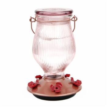 Perky Pet Rose Gold Hummingbird Feeder