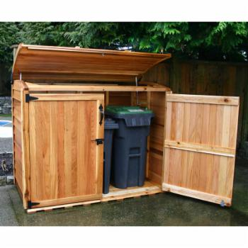 Outdoor Living Today Oscar 6 x 3 ft. Waste Management Shed