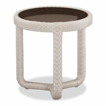 100 Essentials Sumba Wicker Patio Side Table
