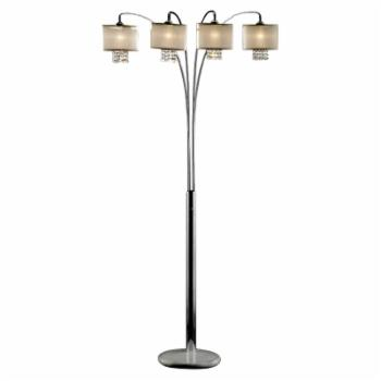 Ore International K-9742 Simple Elegance Arch Lamp
