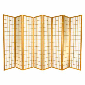 Oriental Furniture Window Pane Shoji Room Divider