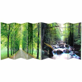 Red Lantern Path of Life 6 Panel Room Divider