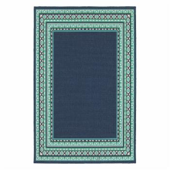 Avalon Home Mackay Bordered Traditional Indoor/Outdoor Area Rug