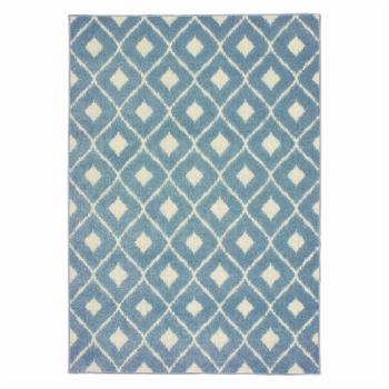 Avalon Home Bateau Diamonds Indoor/Outdoor Mixed Pile Area Rug