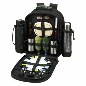 Picnic at Ascot Eco Picnic Backpack with Coffee Service for 2